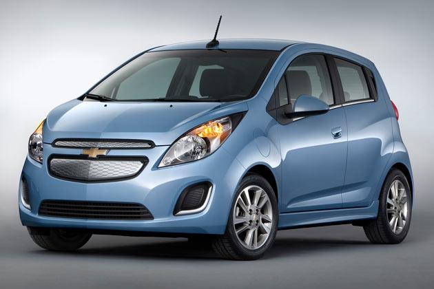Unveiled: 2014 Chevrolet Spark EV